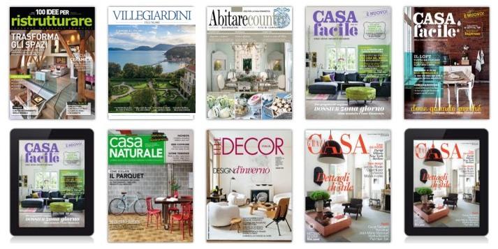 Abbonamenti riviste arredamento for Riviste di arredamento casa
