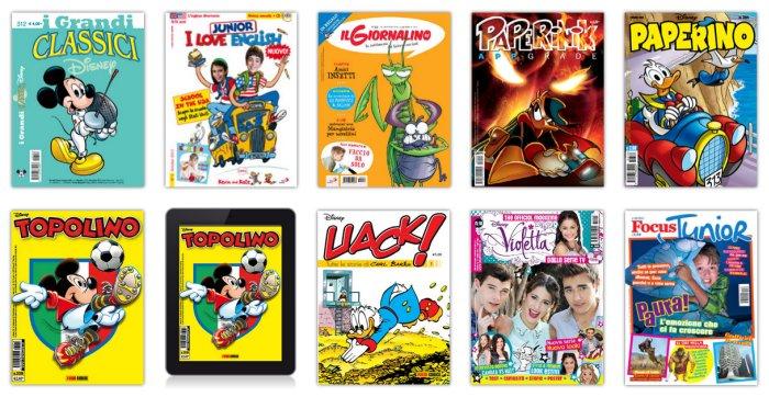 riviste per bambini