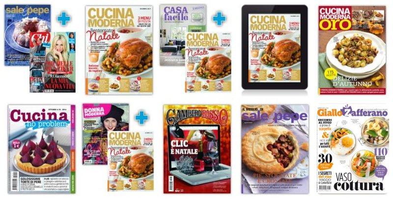 abbonamenti scontati riviste cucina