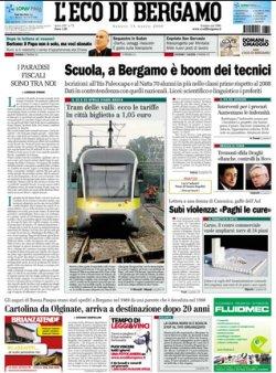 L'ECO DI BERGAMO ONLINE