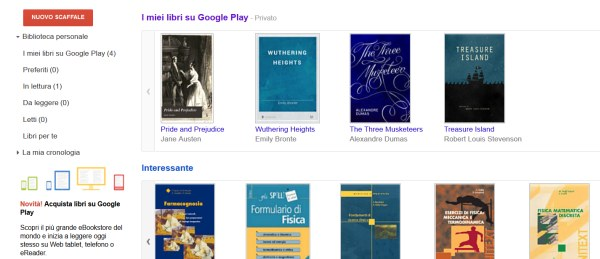google libri ebook screenshot